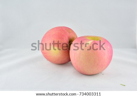Apple is larger if grown from seeds. It is small if cut into tissue to the roots. There are more than 7,500 varieties of apples, Apple has a variety of characteristics. Each variety grows differently. #734003311