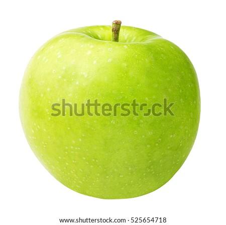 apple isolated on white background #525654718