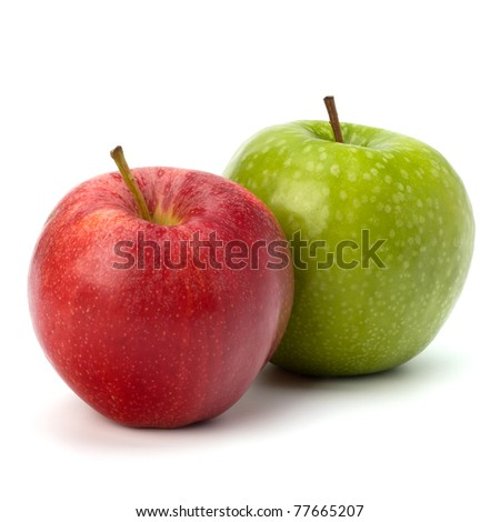 apple isolated on white background