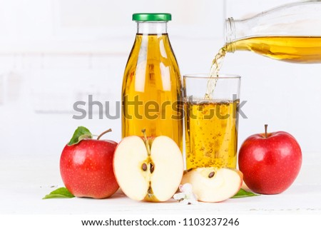 Apple juice pouring pour apples fruit fruits bottle copyspace copy space