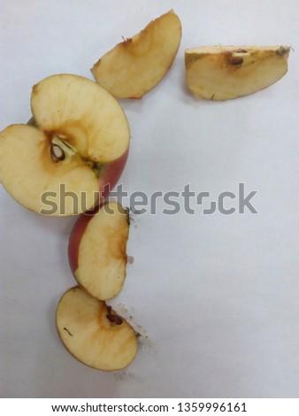 Apple juicy sweet #1359996161
