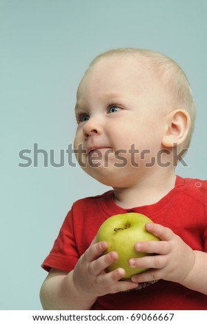 Apple kid