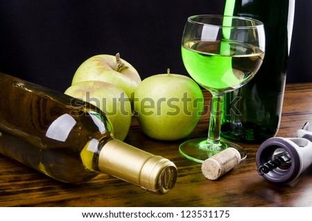 Apple wine - liqueur
