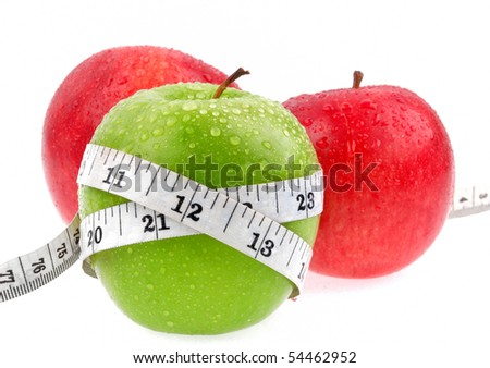Apples measured the meter