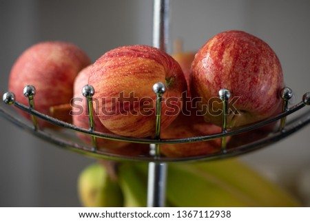 Apples on a rack #1367112938