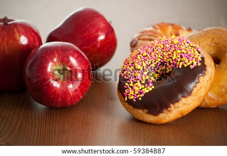 Apples Versus Doughnuts as Snack Option