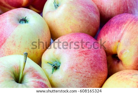 Apples with apples #608165324