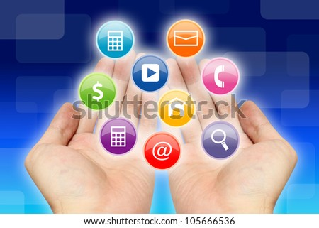 Applications on hands