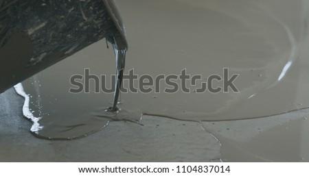 applying self leveling floor