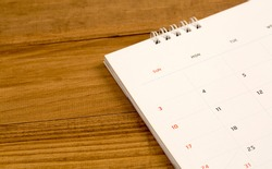 Appointments calendar for planning ahead, work, birthdays, travel, holidays.
