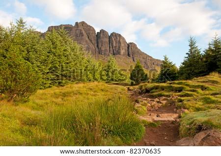 Approaching Old Man of Storr, Isle of Skye,Scotland