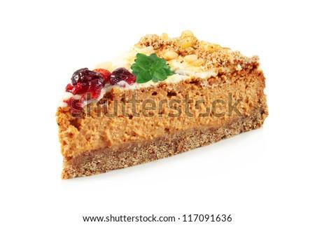 Apricot cheesecake pie