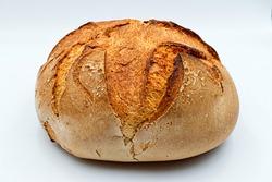 Apulian bread. Traditional Altamura italian bread (Pane pugliese)