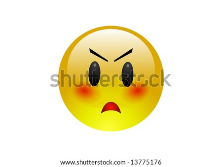 Annoyed Emoticon Symbol