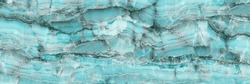 Aqua onyx marble, Aqua Tone onyx marble (with high resolution), marble for interior exterior decoration design business and industrial construction concept design. Blue onyx marbel texture abstract.