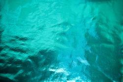 Aqua Teal Turquoise Color Metallic Foil Background