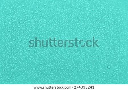 Aqua water drops background
