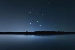 Aquarius star constellation, Night sky, Cluster of stars, Deep space, Zodiac constellation, Water Bearer, Water Carrier