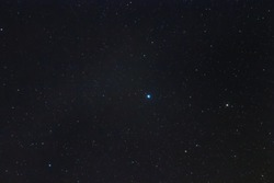 Aquila Constellation in Real Night Sky, Eagle Constellation Starry Sky
