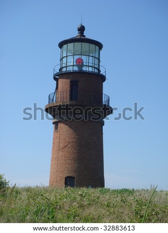 Aquinnah Gay Head lighthouse Martha's Vineyard Massachusetts