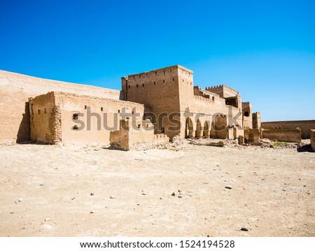 Arabia, Sultanate of Oman, Oman, the abandoned clay village Jalan Bani Buali