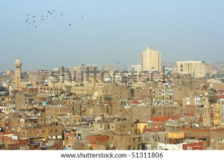 Arabian city. Cairo