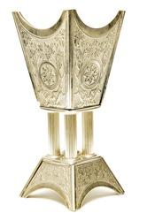 Arabian Gold Coal Censer