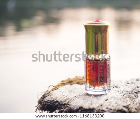 Arabian oud attar perfume or agarwood oil fragrances in mini bottle #1168133200