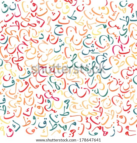 arabic alphabet texture background - high resolutionArabic Language Logo