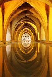 Arabic baths in Alcazar, Seville