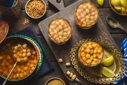 Arabic Cuisine; Egyptian traditional  chickpeas drink