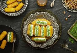 Arabic Cuisine: Middle Eastern dessert/Ramadan dessert