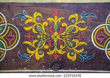 Arabic pattern from Rabat, Morocco
