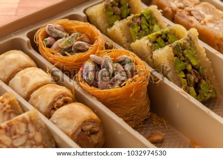 Arabic Sweets or Desserts