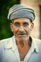 Arabic turbaned man in Egypt