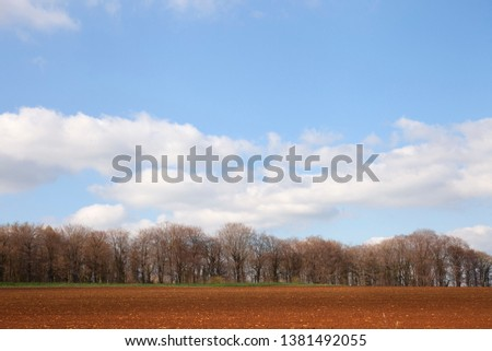 Arable farmland near Taddington, Cotswolds, Gloucestershire, England #1381492055