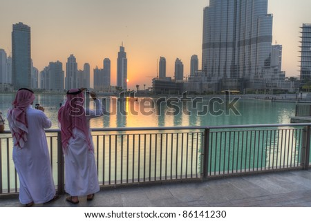 arabs in Dubai