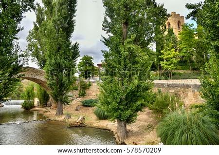Shutterstock Aranda de Duero is the capital of the Ribera del Duero wine region. Medieval bridge