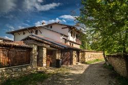 Arbanassi, Veliko Tarnovo, Bulgaria. Traditional bulgarian house in Arbanasi