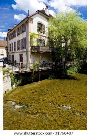 Arbois, Departement Jura, Franche-Comte, France