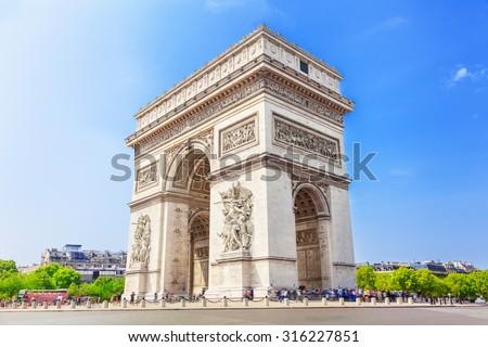 Shutterstock Arch of Triumph, Paris