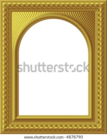 Arch Picture Frame