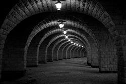 Arch under the bridge