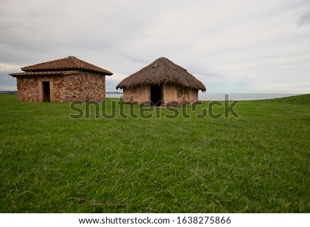Archaeological and natural Park of Campa-Torres Foto stock ©