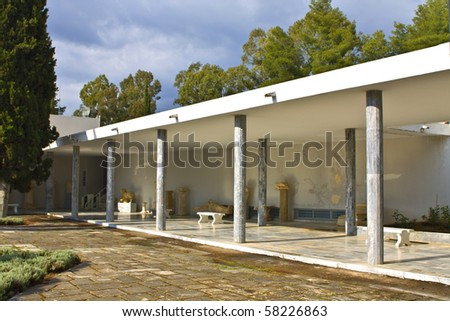 Archaeological museum of ancient Olympia at Greece