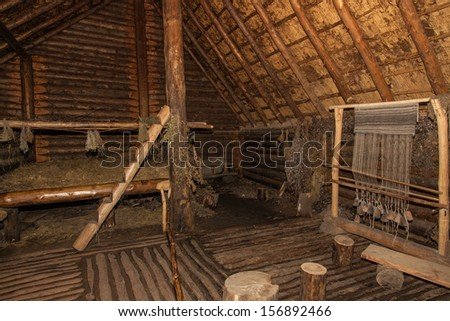 Archaeological open air museum Biskupin is an archaeological site and a life-size model of an Iron Age fortified settlement in north-central (Wielkopolska) Poland (Kuyavian-Pomeranian Voivodeship).