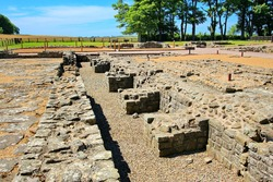 Archaeological remains of Romans in United Kingdom