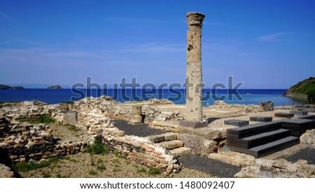 archaeological site, Nora, Sardinia, Italy #1480092407