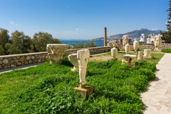 Archaeological site of Eleusis (Eleusina) in Greece. It was known for the Great Mysteries, as the Eleusinian Mysteries were also called, the most famous secret religious rite of the ancient Greece.