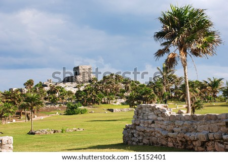 Archaeological site of Tulum, Mexico